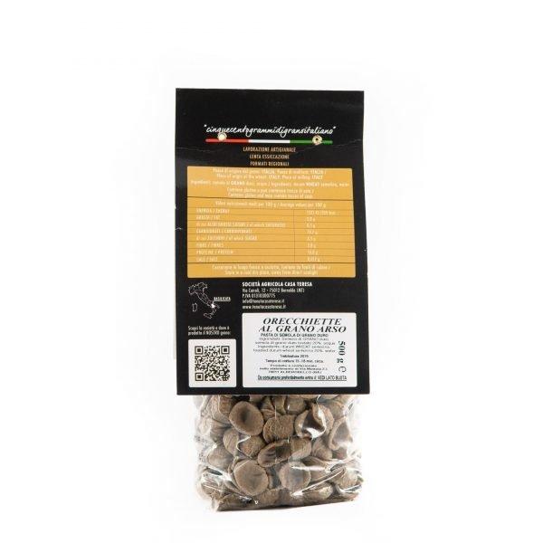 Orecchiette artigianali al grano arso 500g