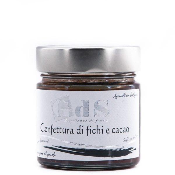 Confettura di fichie e cacao BIO 230g