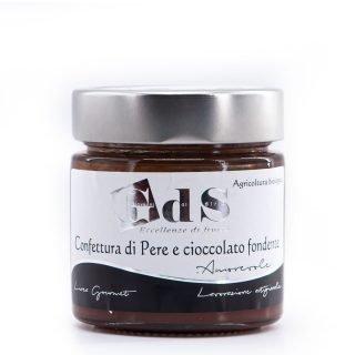 Confettura di pere e cioccolato fondente BIO 230g