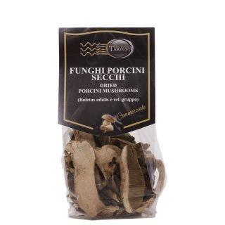 Funghi porcini (Boletus Edilis e relativo gruppo) a fette essiccati, in confezione da 50gr, made in Italy