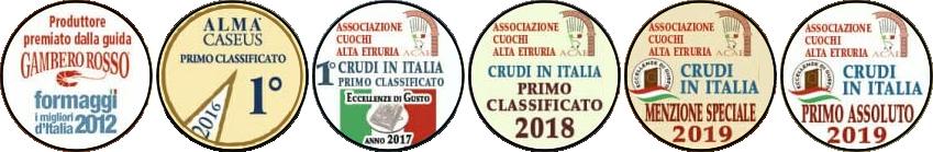 Premi e menzioni speciali ricevuti da Azienda Agricola Bonat