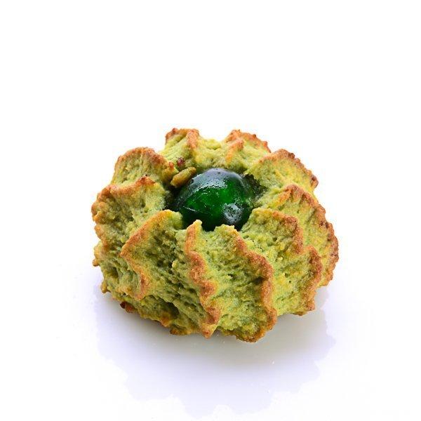 Pasta siciliana alle mandorle, Ricci pistacchio