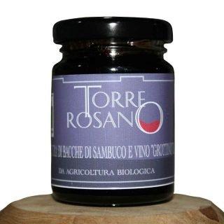 Torre Rosano Confettura di Sambuco e vino Grottino IGP